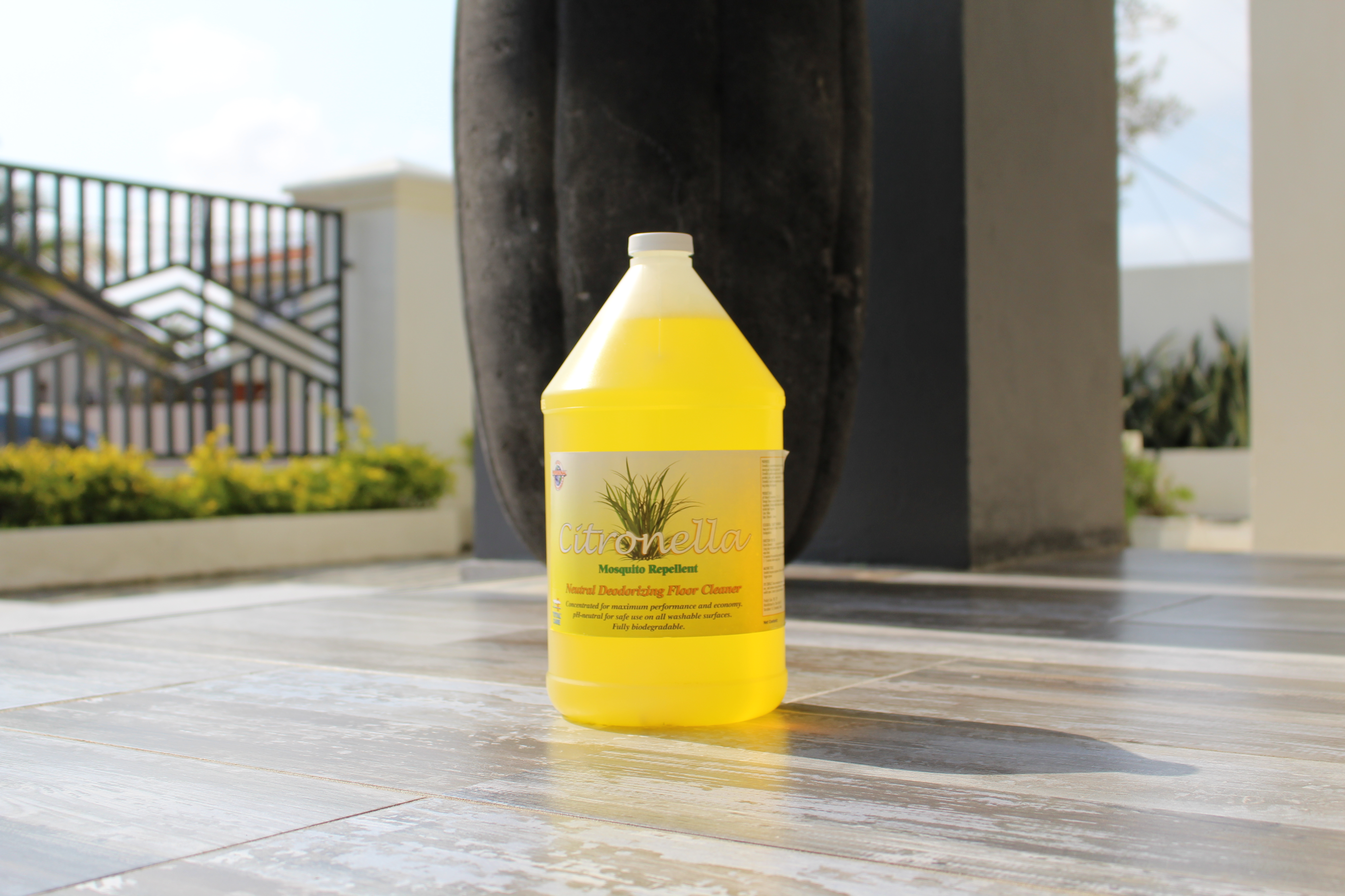 Citronella Mosquito Repellent Floor Cleaner Total Services Aruba